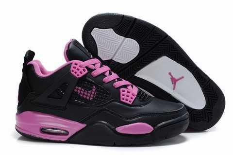 lowest price 8819c 9a7dc nike air jordan femmes,nike air jordan flight 45 high gs chaussures pas cher  pour femme noir rose